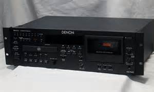 Cd Player With Cassette Deck by Denon Dn T625 Cassette Deck Cd Player Recorder Denon