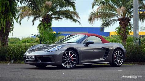 harga porsche boxster 718 indonesia autonetmagz - Porsche Boxster Indonesia