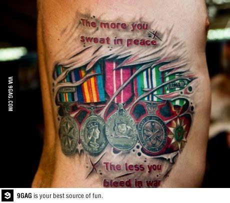 amazing tattoo ive   military tattoos