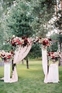 Backyard Wedding Arch Best 25 Outdoor Wedding Backdrops Ideas On