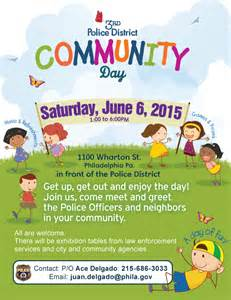 community event flyer template coming soon 3rd district community day lower