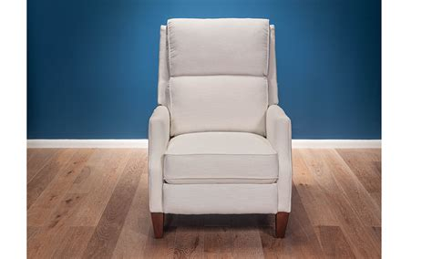 milano cotton pushback recliner  dump luxe furniture