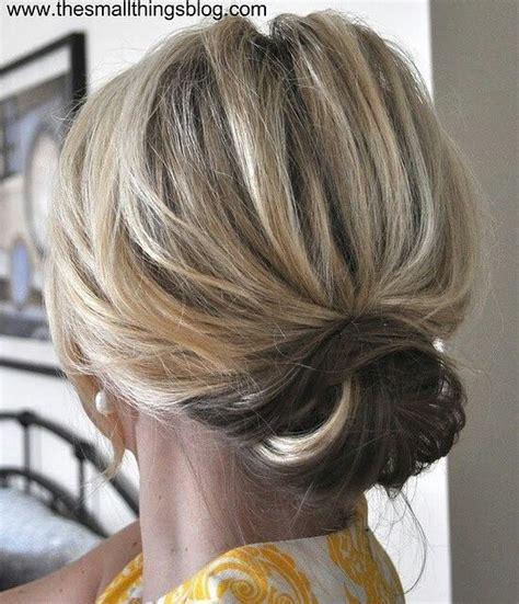 cute easy hairstyles for short hair pinterest cute updo for short hair hair long beautiful hair