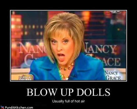 Blow Up Doll Meme - the internet just loves making fun of ms nancy grace