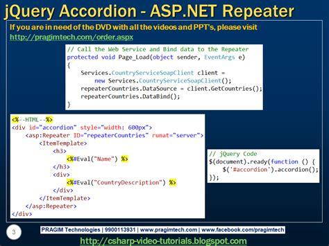 tutorial jquery accordion sql server net and c video tutorial jquery accordion