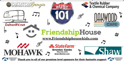 friendship house music thank you to our music festival sponsors friendship house