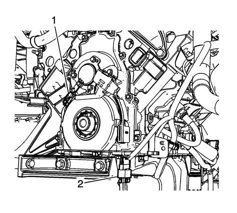 Repair Instructions On Vehicle Engine Front Cover