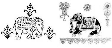 indian folk design from gujaratart and design inspiration