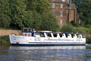 party boat hire stratford upon avon worcester