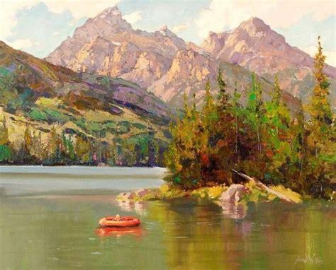 beautiful landscape paintings by wallis