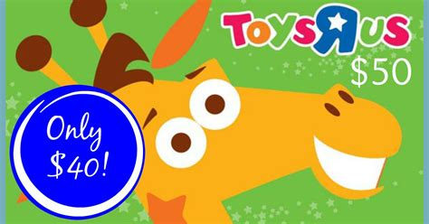 Sale Gift Cards Near Me - hot 50 toys r us gift card only 40