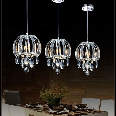 modern pendant l crystal kitchen pendant lighting