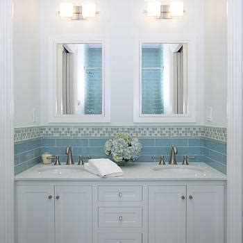 Blue Bathroom Cabinets Design Ideas