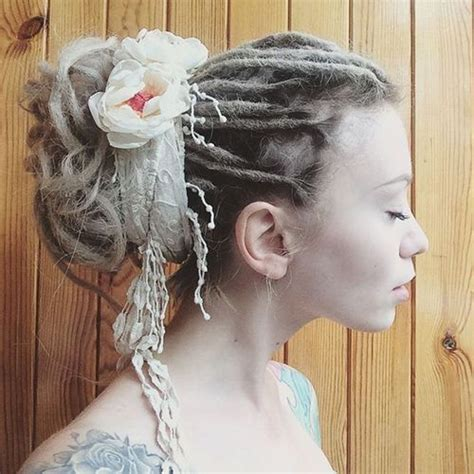 simple and elegant dreadhairstyles com 30 creative dreadlock styles for girls and women