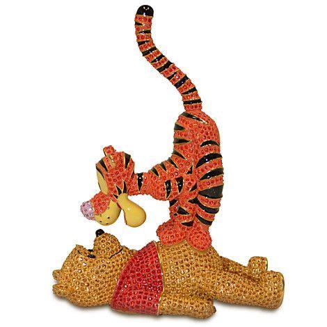 Bros Swarovski Kembang 8 winnie the pooh and tigger figurine by arribas brothers figurines keepsakes i soooo want