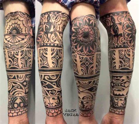 half sleeve maori tattoo best tattoo ideas gallery