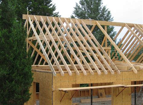 how to build a gable roof how to build roof trusses with your own