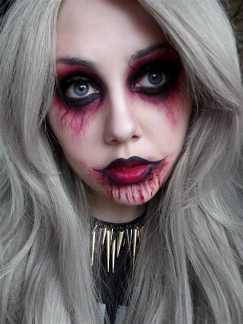 halloween punk vampire makeup ideas  girls  learn