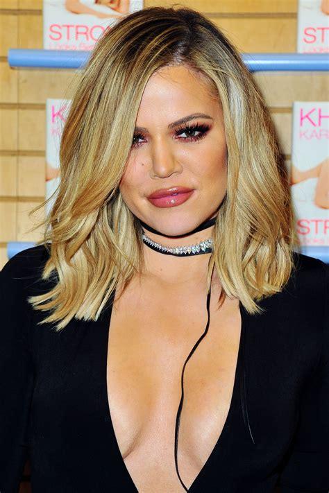khloe kardashian short hair 2015 khloe kardashian got a bob so it looks like her short