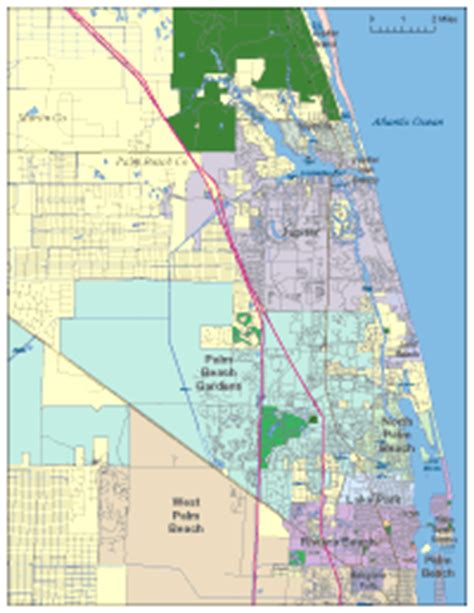 map of florida jupiter editable jupiter fl city map illustrator pdf