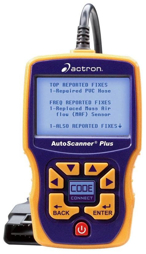Actron CP9580A Enhanced AutoScanner Plus Review ? Scan