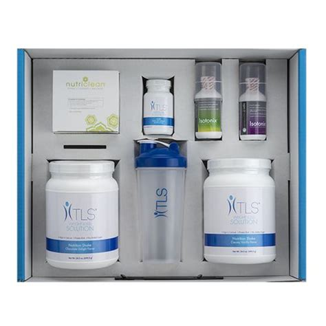 Tls Weight Loss Detox by Tls 174 21 Day Challenge Kit New You It Is And Sheds