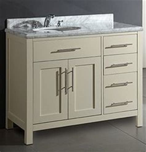 off center bathroom vanities the bathroom on pinterest double vanity vanities and