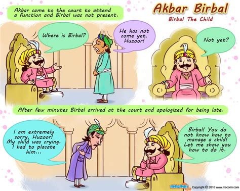 akbar biography in english pdf birbal the child akbar birbal stories for kids mocomi