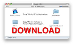 download free moviedrops hd for imovie and for final cut imovie 06 free