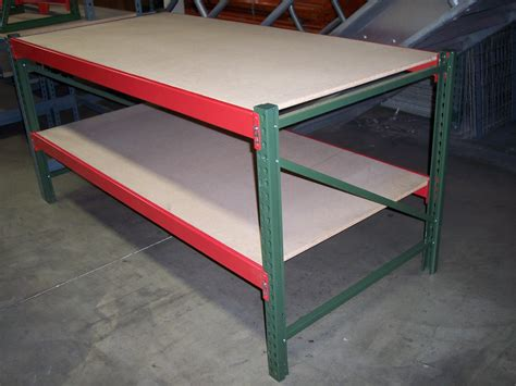 Pallet Rack Workbench by Work Benches All American Rack Company Warehouse Pallet