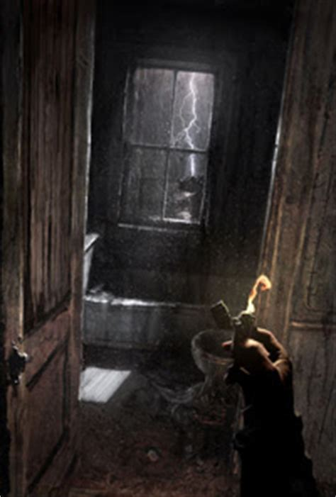Horror Bathroom by Scary Bathroom In An Abandoned House Rpg Inspirations