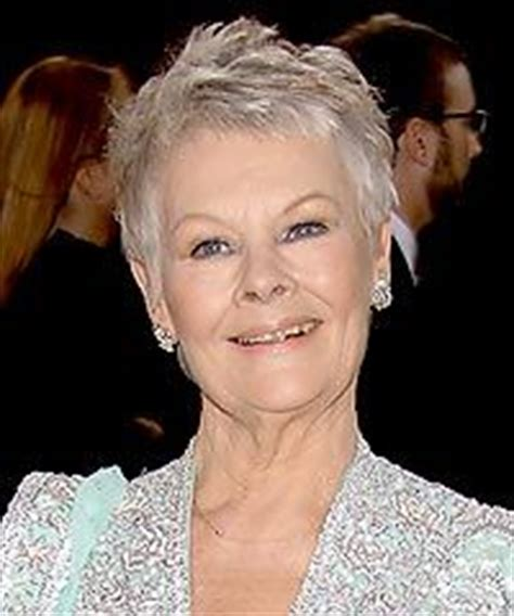 how to cut judi dench bangs beautiful type 4 and judi dench on pinterest