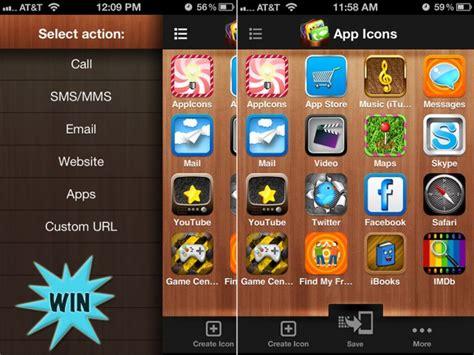 theme icon maker ios 7 app icons home screen icons skins frames custom