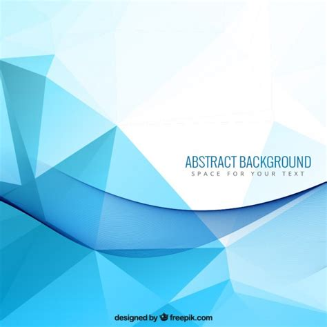 design backdrop reuni abstract background with blue polygons vector free download