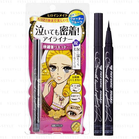 Eyeliner Heroine Make isehan heroine make smooth liquid eyeliner 01 black