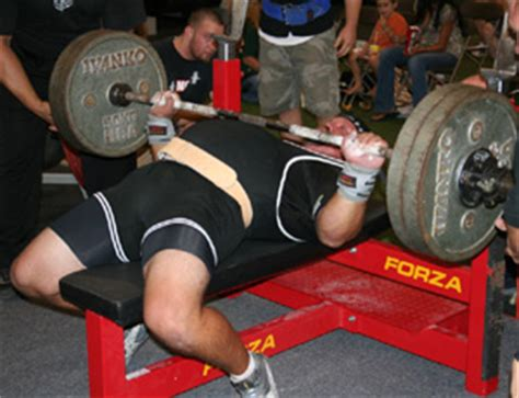 forza bench press building a strong bench press for athletics