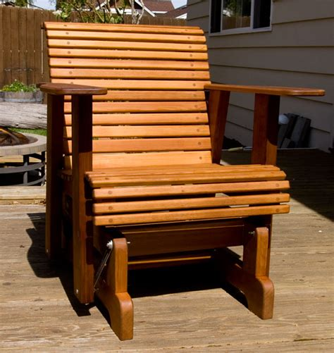 Patio Glider Chair Plans by Glider Deck Chairs