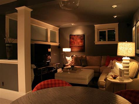 Basement Family Room Ideas Cool Basement Ideas For Entertainment Traba Homes