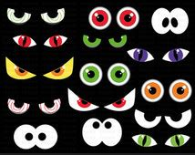 printable halloween spooky eyes spooky halloween eyes clip art 50