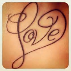 Love heart letter tattoo design great tattoo ideas and tips