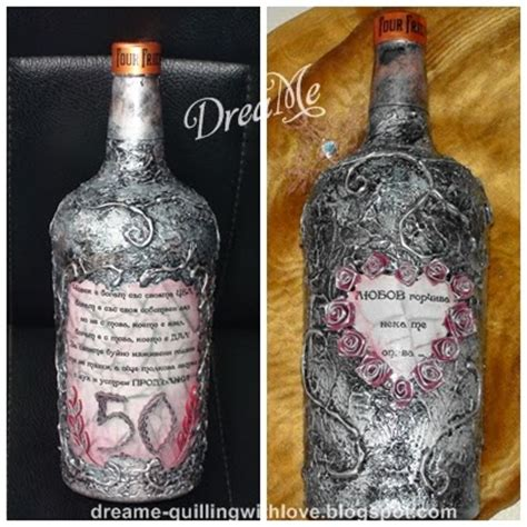 tutorial decoupage botol dreame bottle decoupage tutorial