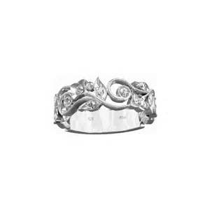 unique silver wedding rings wedding engagement bridal band floral ring