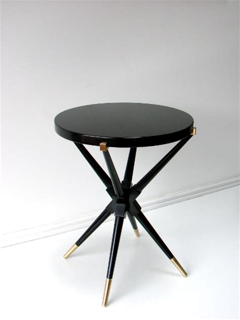 Black Side Table Vidal Company Luxury Bespoke Furniture Furniture Designers And Cabinate Makers