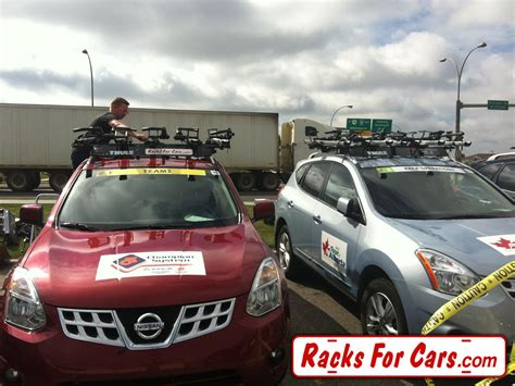 Racks For Cars by Racking Up The Tour Of Alberta Team Vehicles Racks For Cars
