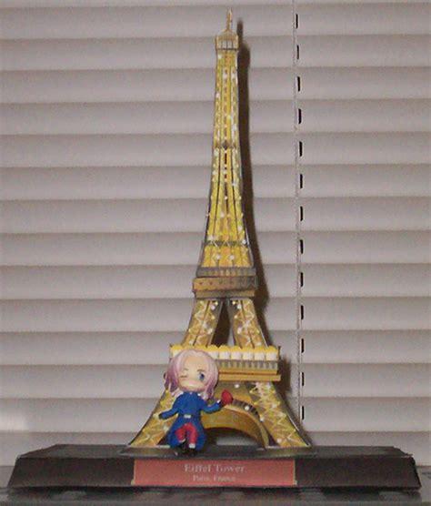 Eiffel Tower Papercraft - eiffel tower papercraft by haos shaman on deviantart