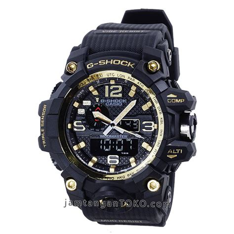 Jam Tangan G Shock Black 1 harga sarap jam tangan g shock mudmaster kw1 gwg 1000gb