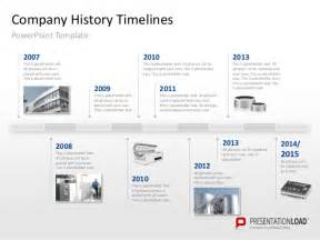 History Template Powerpoint by Powerpoint Timeline Template