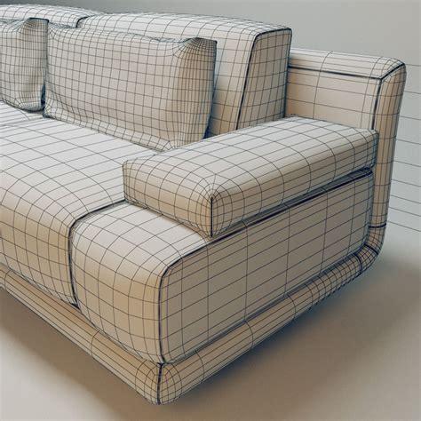 fendi sofas fendi casa artu sofa 3d model max fbx cgtrader com