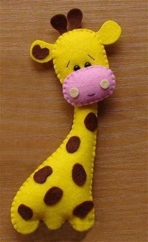imagenes de jirafas coquetas moldes para hacer jirafas de fieltro