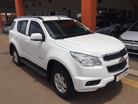 used chevrolet trailblazer 2 5 lt 7 seater low price for